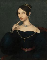 G Portrait of K Nechvjlodova end 1830 by Unknown